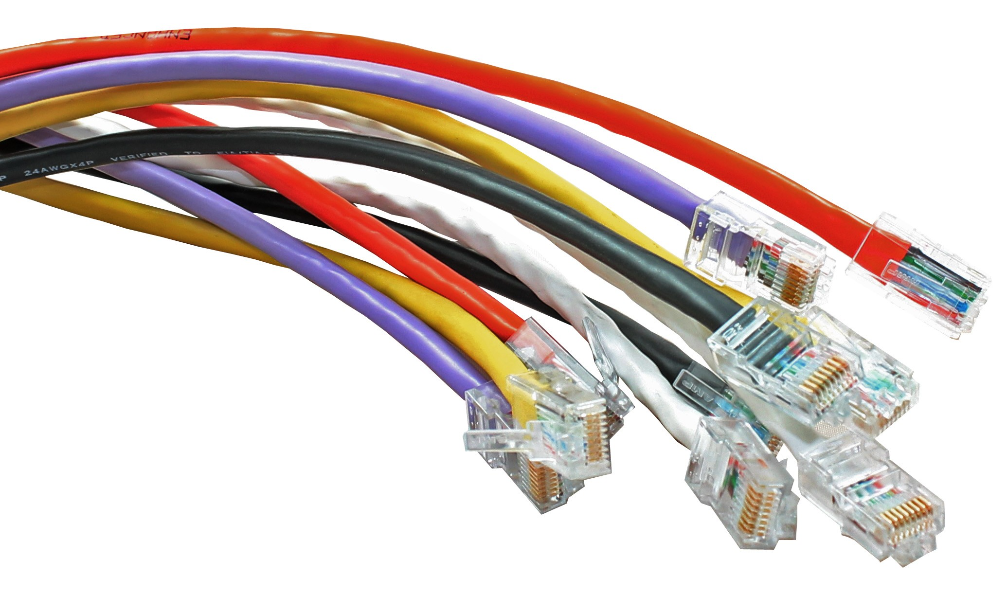 Cat5e Rj45 Patch Leads Wiring Double Socket