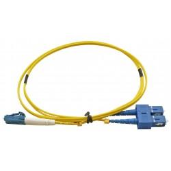 LC - SC Singlemode (9/125) Duplex Fibre Patch Lead