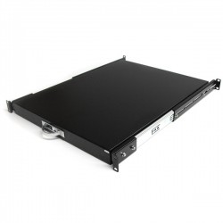 StarTech.com 22in Black Deep Sliding Server Rack Cabinet Shelf