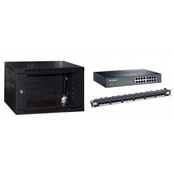 Gigabit 6u Wall Mount Cabinet Kit