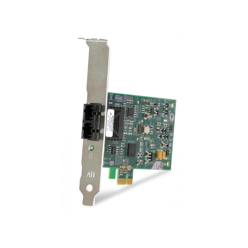 Allied Telesis PCI-Express Fast Ethernet Fiber NIC (ST)