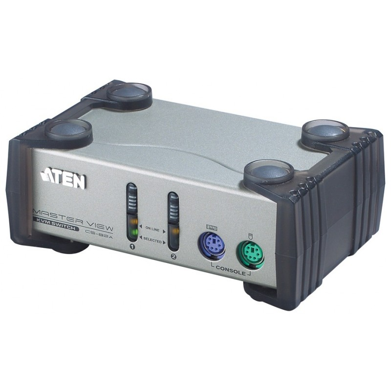 Aten CS82A 2-Port PS/2 KVM Switch