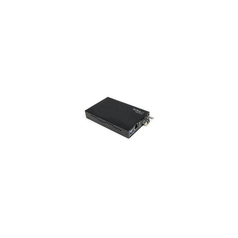 StarTech.com Fiber Media Converter Gigabit 1000Mbps MM Fibre LC 550m