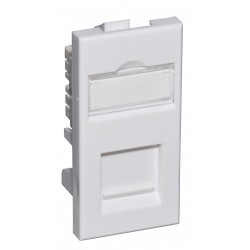 Cat5e FTP Shielded RJ45 Module (Euromod Size)