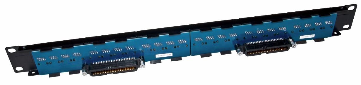 24 Port BNC 50 OHM Female Patch Panel Rackmount Free Ship USA Seller