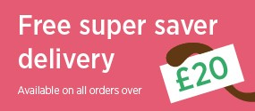 Free delivery available on all orders