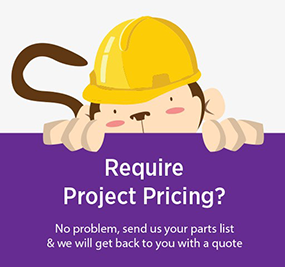 Require project pricing? - request a quote